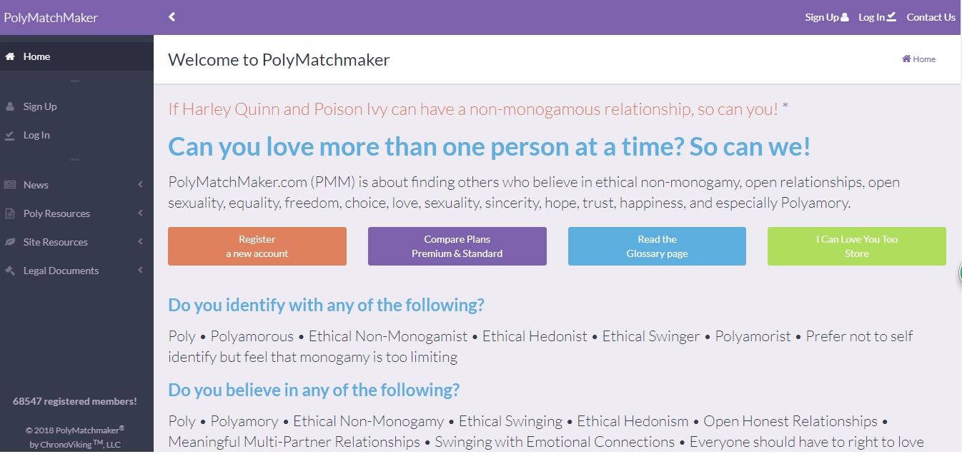 Best free polyamory dating sites